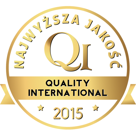 Nagroda Złote Godło Quality International 2015